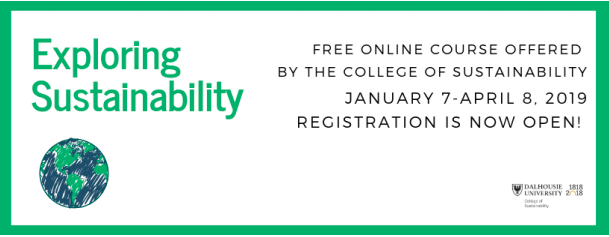 Dalhousie FREE Sustainability Course